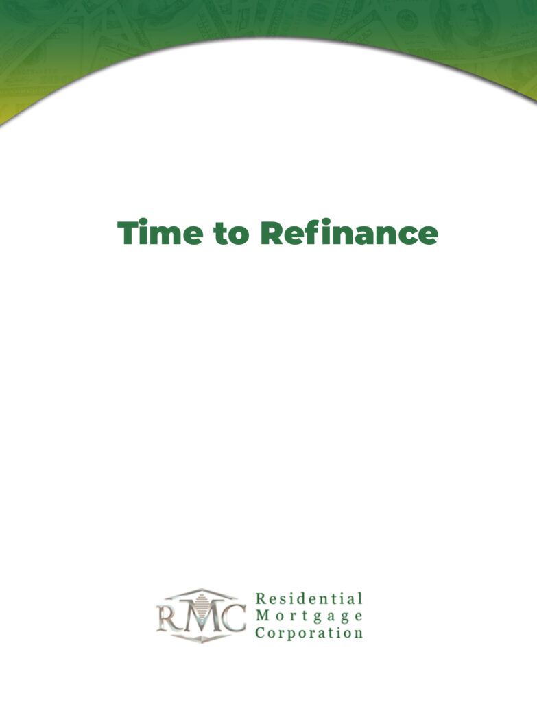 TIME-TO-REFINANCE