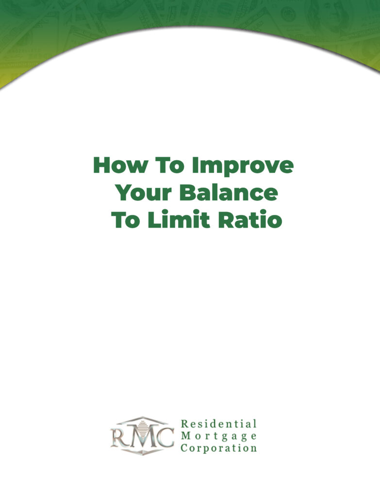how to balance your limit ratio